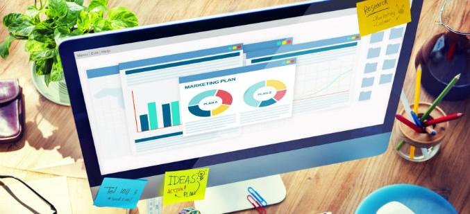 Business Marketing Plan Computer Desk